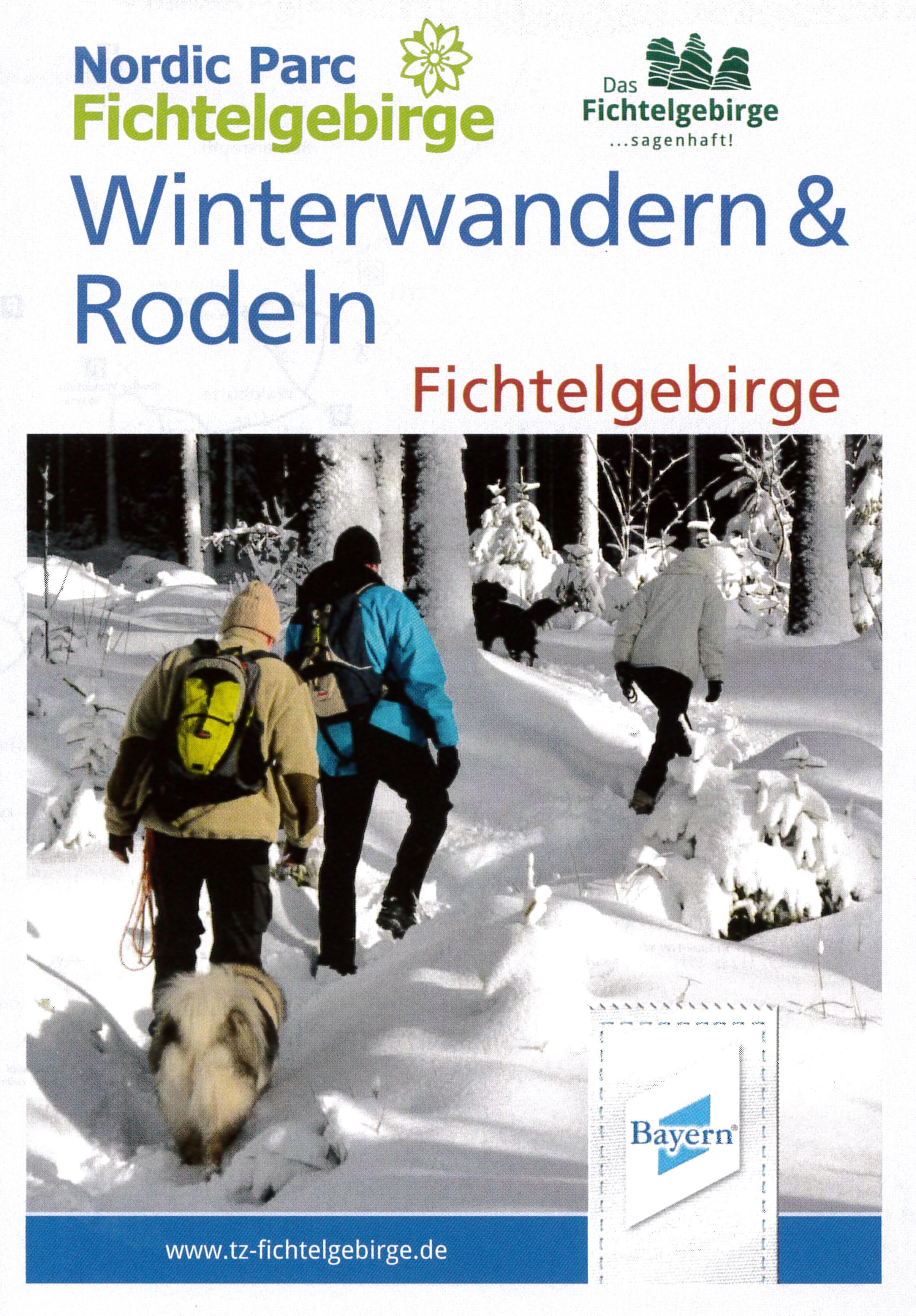Winterwanderwege im Fichtelgebirge