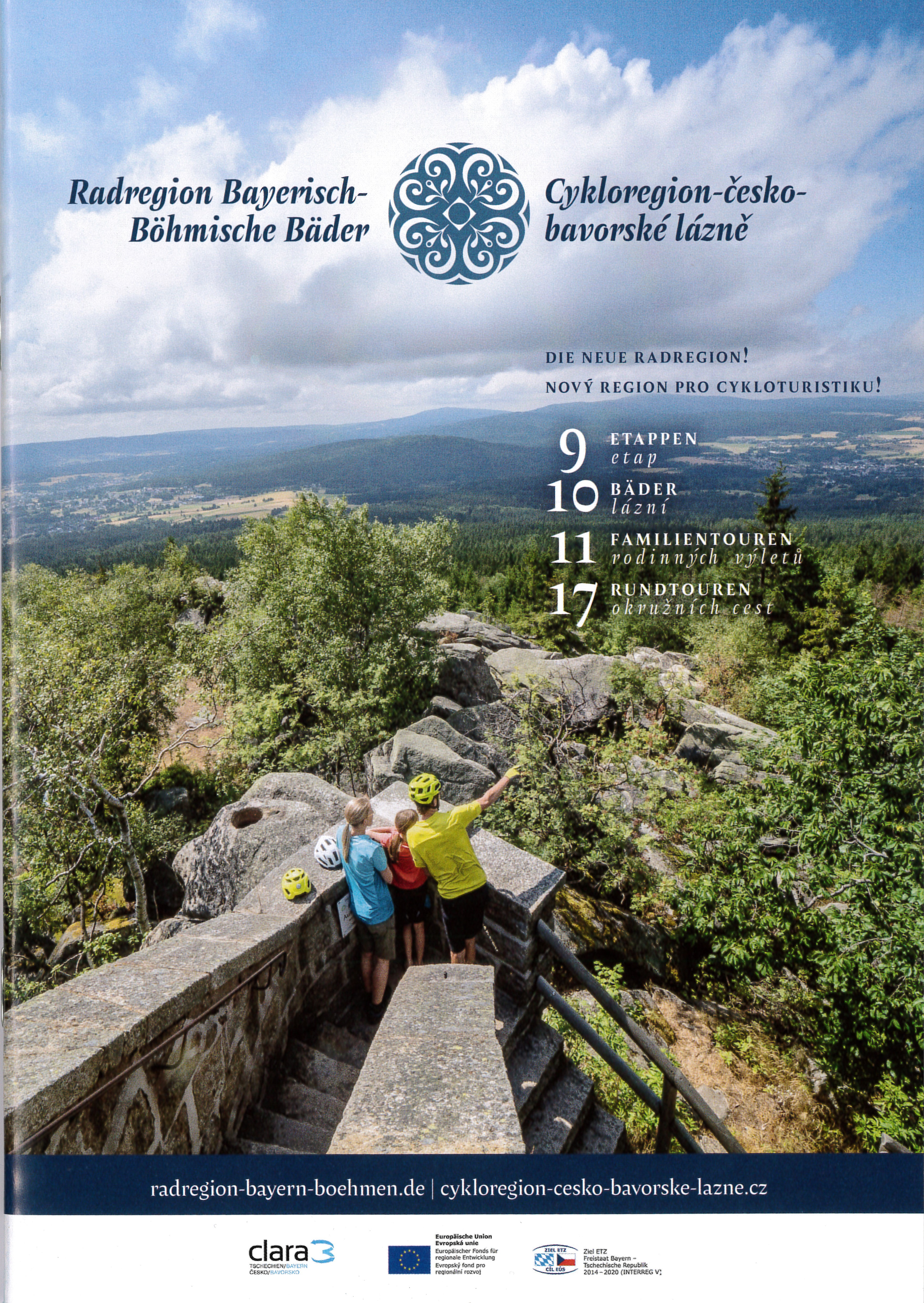 Bayerisch - Böhmische Bäderradtouren
